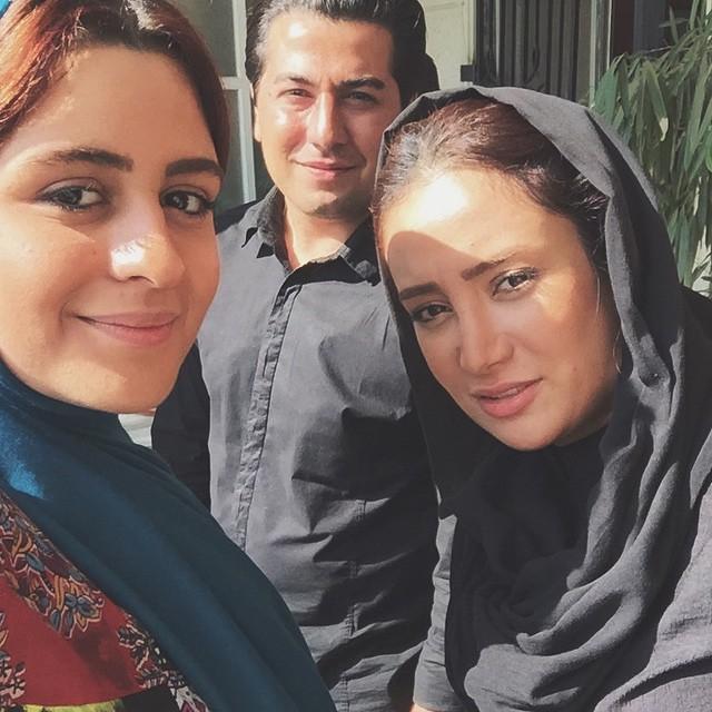 عکس بهاره افشاری و فاطیما بهارمست