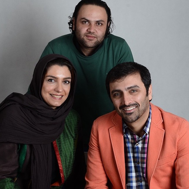 عکس الیکا عبدالرزاقی و همسرش امین زندگانی