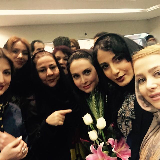 عکس سلفی الناز حبیبی و مریم خدارحمی و سمیرا حسینی