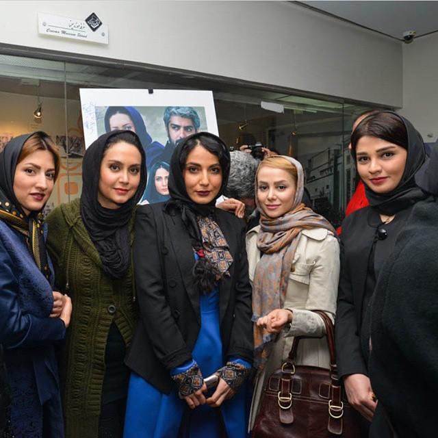 عکس سیما خضرآبادی و الناز حبیبی و مریم خدارحمی و سمیرا حسینی