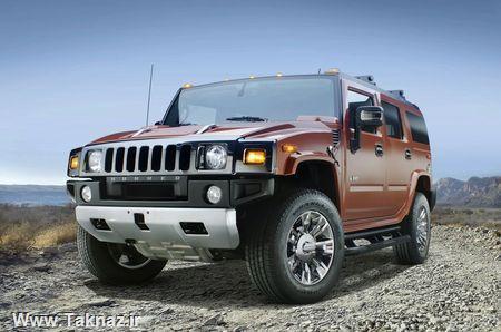 عکس های جدید ماشین Hummer