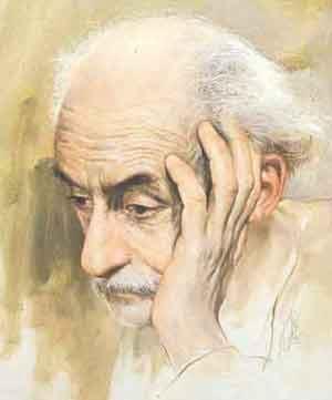 شعر نیما یوشیج : تو را من چشم در راهم ...