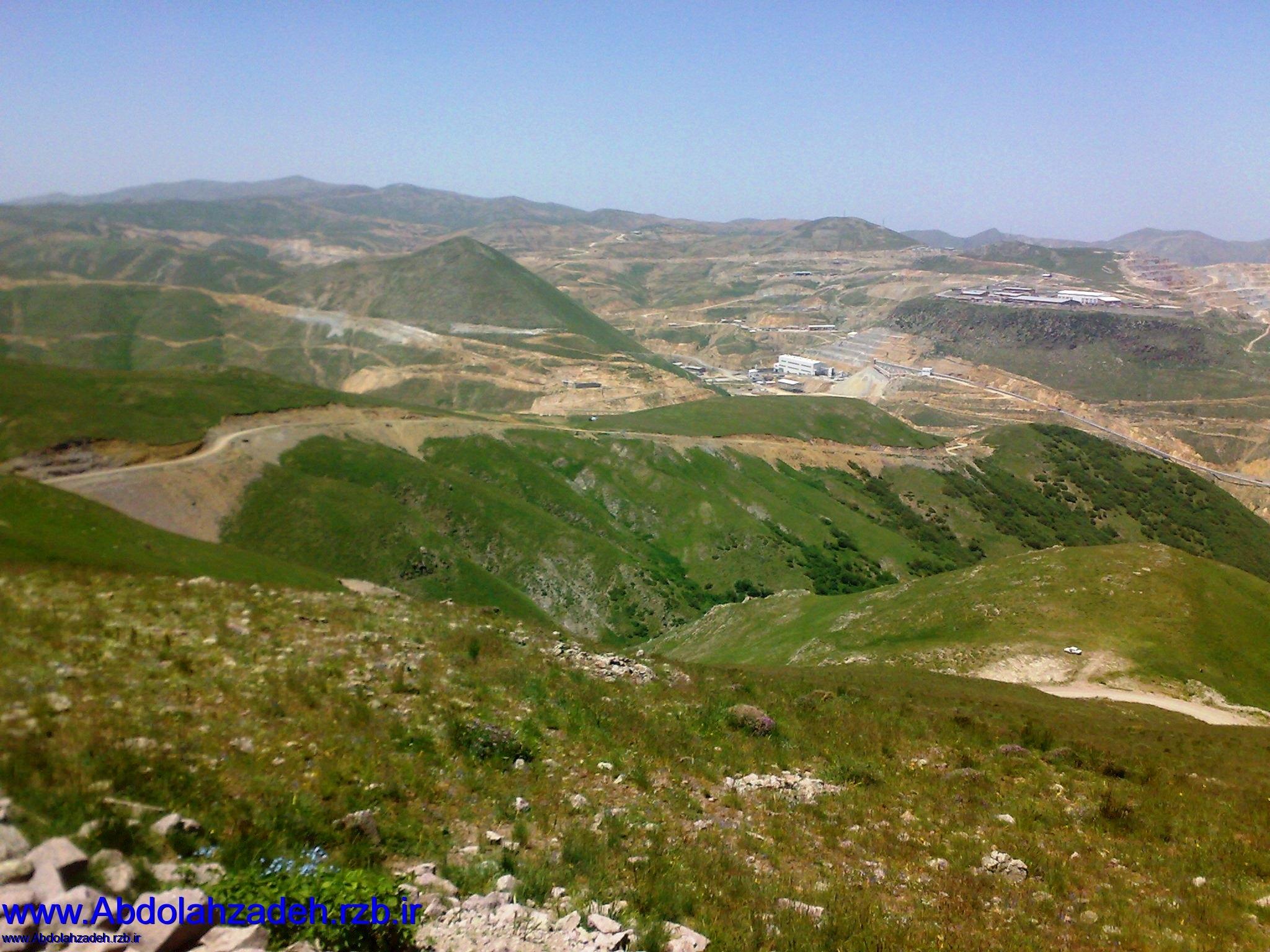 روستای سیه کلان - معدن مس سونکون