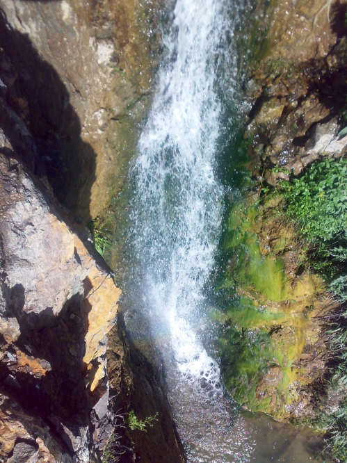 آبشار سیه کلان - آبشار حاج قربان دربندی