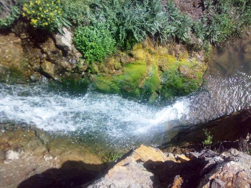 منظره آبشار سیه کلان - آبشار حاج قربان دربندی