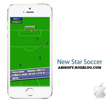 بازی فوتبال New Star Soccer 1.705 – آیفون ، آیپد و آیپاد