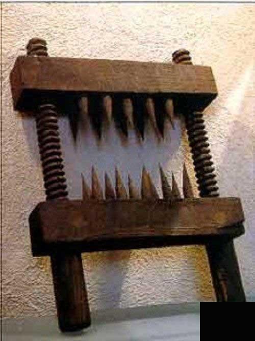 ترسناک ترین وسایل شکنجه (عکس)