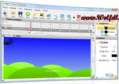 دانلود Hippo Animator 1.6.4471 ساخت انیمیشن های وب