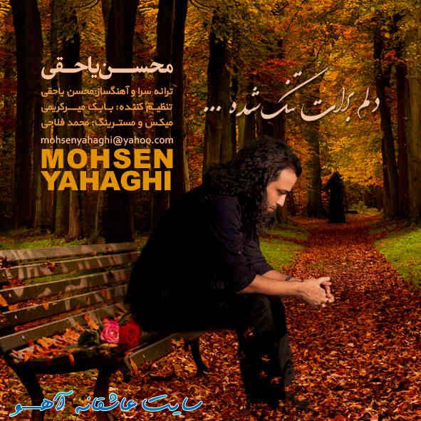 فقط دلم برات تنگ شده,دانلود آهنگ جدید,محسن یاحقی دلم برات تنگ شده