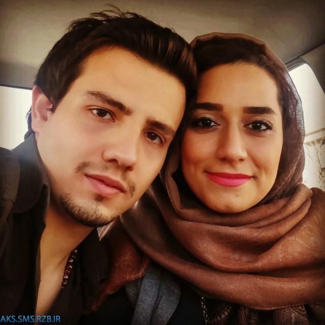 عکس هاي جديد امیر کاظمی و همسرش مهتاب محسنی 93