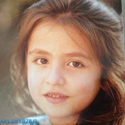 عکس كمياب و ديدني کودکی گلاره عباسی