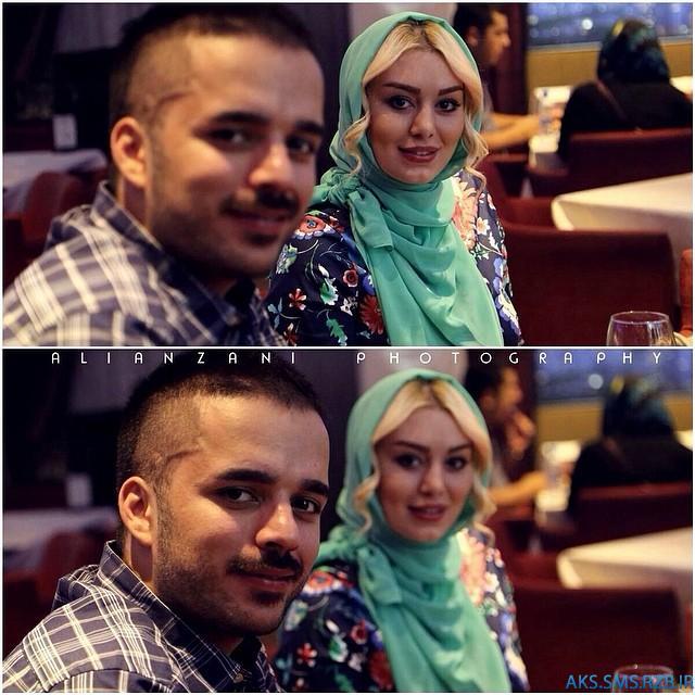 تک عکس سحر قریشی و برادرش سپهر | www.aks-sms.rzb.ir