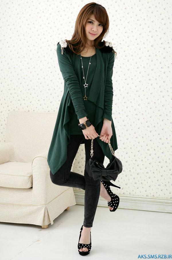 مدلهای تونیک دخترانه کره ای | www.aks-sms.rzb.ir