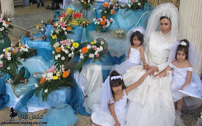 عکس هاي بازیگران زن در لباس عروس