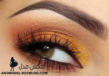 زيباترين رنگ های سایه برای چشمان قهوه ایی