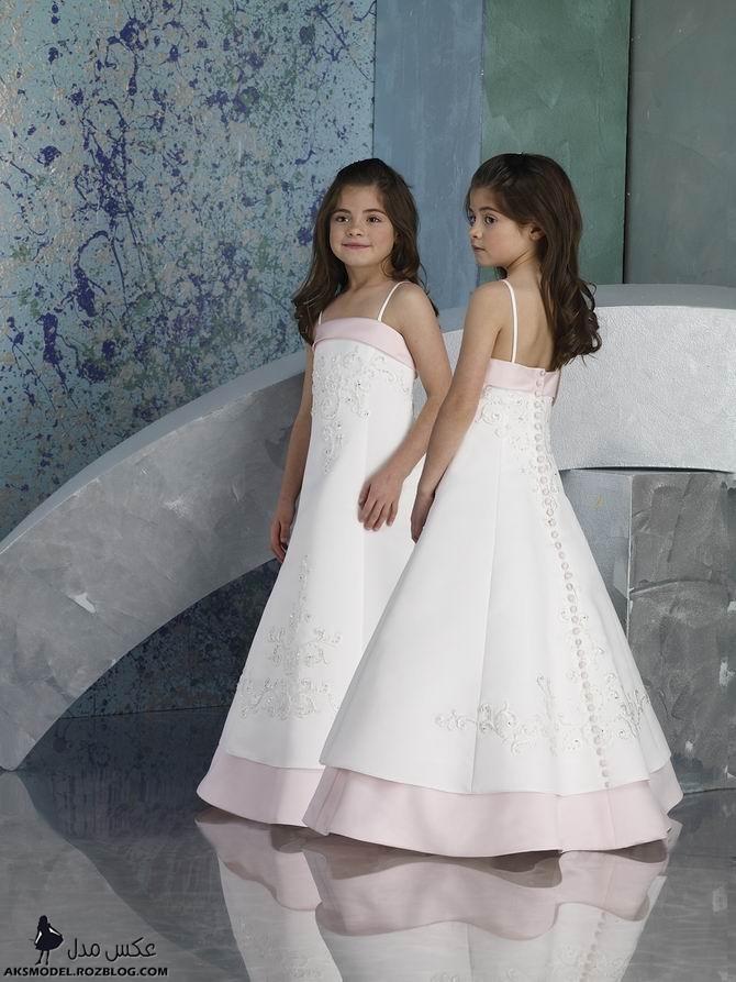 مدل جديد لباس عروس بچگانه