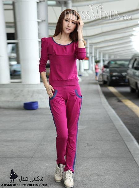 مدل لباس های اسپرت دخترانه کره ای
