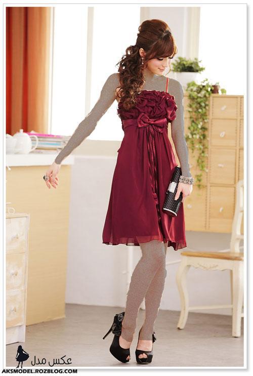 http://aksmodel.rozblog.com - انواع مدل لباس مجلسی کره ای