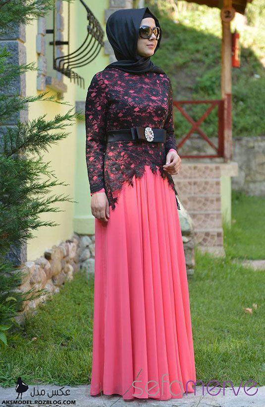 http://aksmodel.rozblog.com - ژورنال لباس مجلسی پوشیده دخترانه ترک