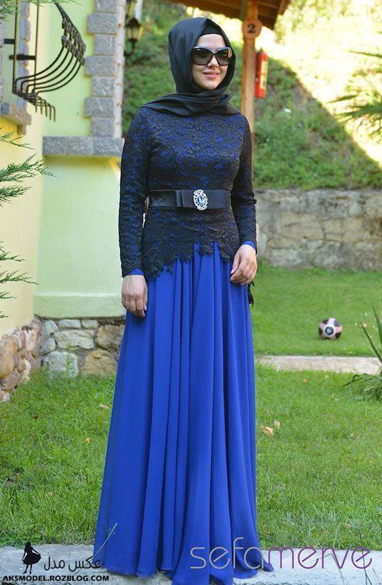 http://aksmodel.rozblog.com - ژورنال لباس مجلسي پوشيده دخترانه ترك