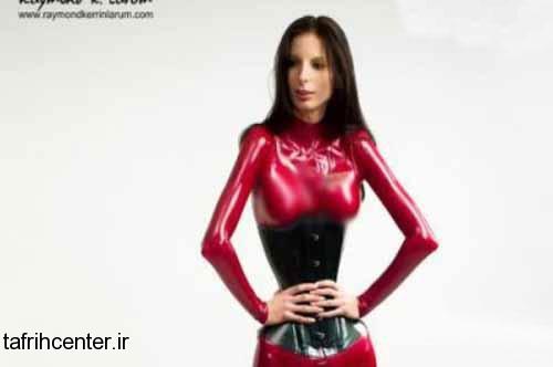مدل رومانیایی با اندامی عجیب تصاویر دیدنی