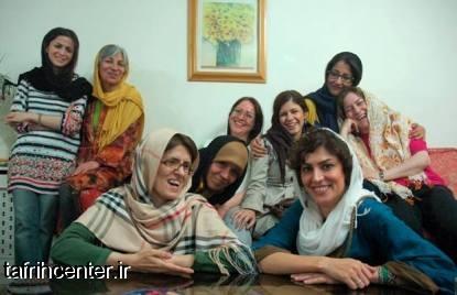 عکس از شکنجه فائزه هاشمی و همکاراننش در اوین !!