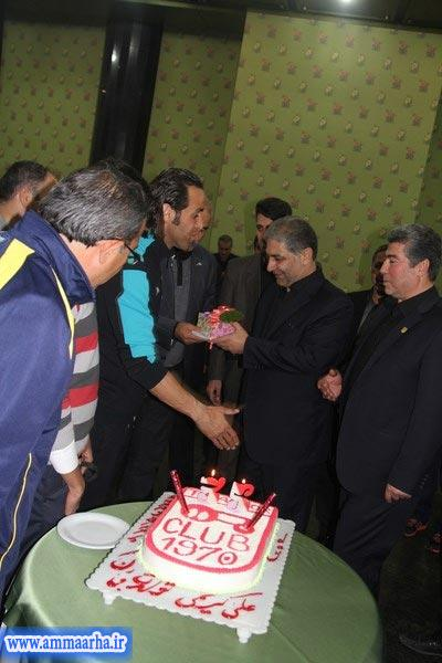 جشن تولد علي كريمي جادوگر فوتبال ایران