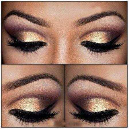 آموزش  تصویری آرایش چشم و مدل سایه چشم زیبا