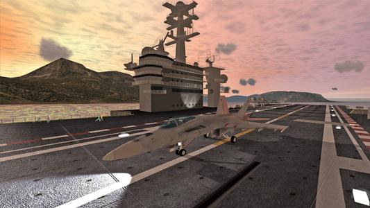 دانلود بازی فرود بر روی ناو هواپیمابر F18 Carrier Landing II Pro v1.1 اندروید