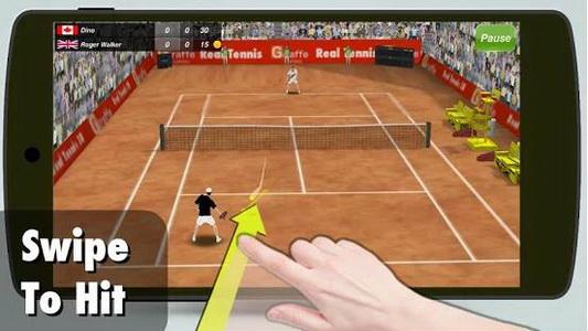 دانلود بازی مسابقات تنیس Tennis champion 3D 1.3 اندروید