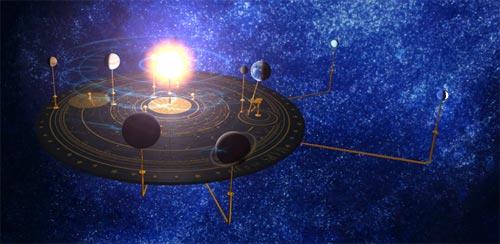 منظومه شمسی سه بعدی