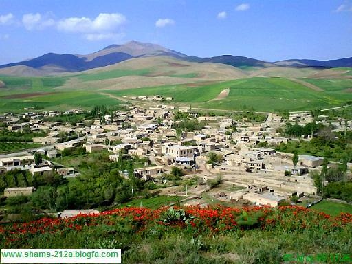 تصویری زیبا از روستا