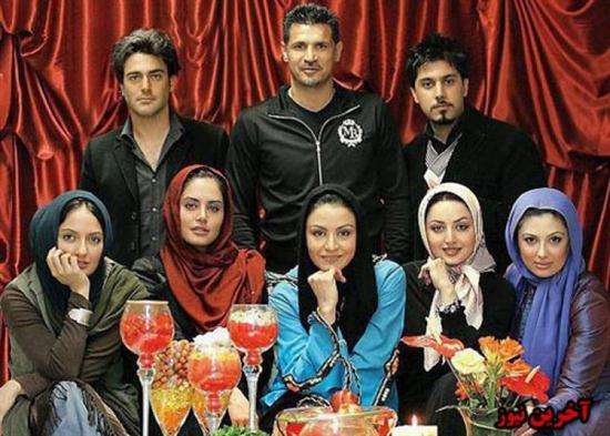 عکس علی دایی در کنار هنرمندان