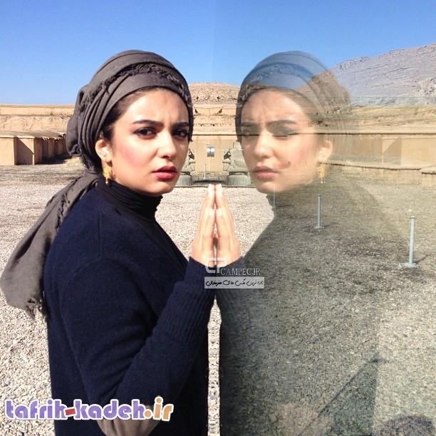 عکس لو رفته بازیگر زن ایرانی