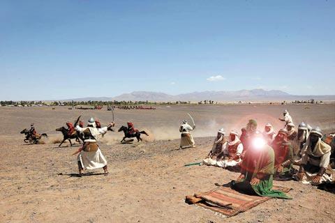 دانلود صحنه حذف شده شهادت حضرت عباس (ع) در سریال مختارنامه