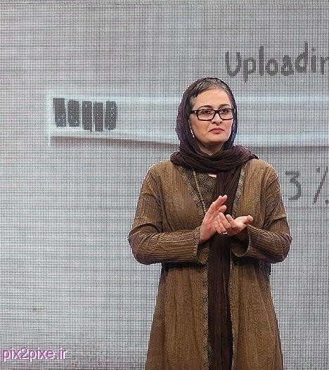 عکس های جدید پریوش نظریه در اختتامیه جشنواره پروین اعتصامی