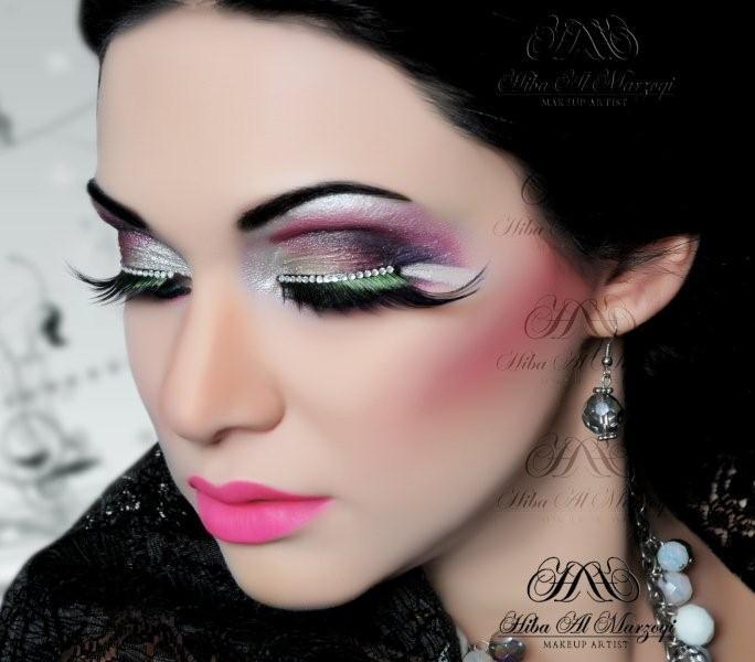 جدیدترین مدلهای آرایش چشم عروس ایران ۲۰۱۵
