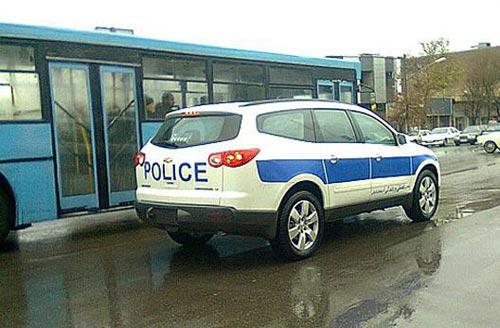 خودروی زیبای پلیس شهر تبریز!!+ تصاوير