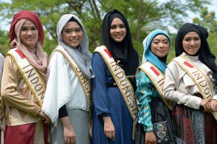 مسابقه ملکه زیبایی زنان محجبه!! + عکس