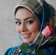 عکس موتور سواری بازیگر زن جوان ایرانی