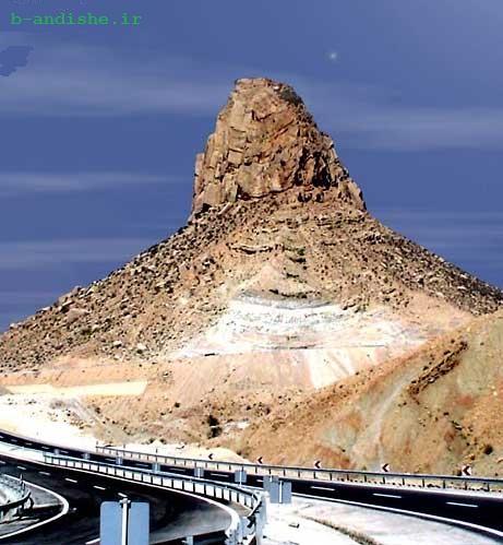 کوهی عجیب در ایران