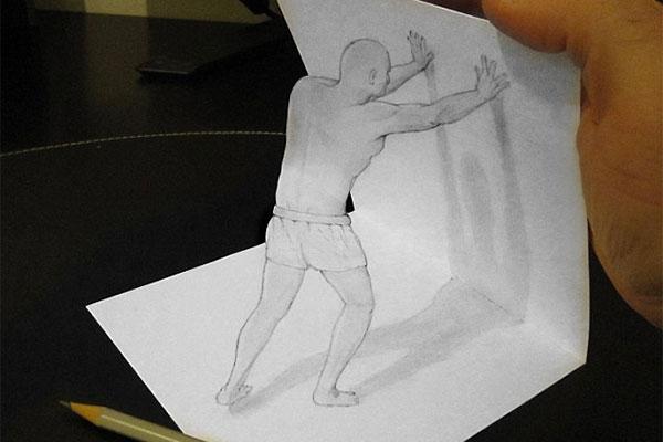 هنر نمایی روی کاغذ