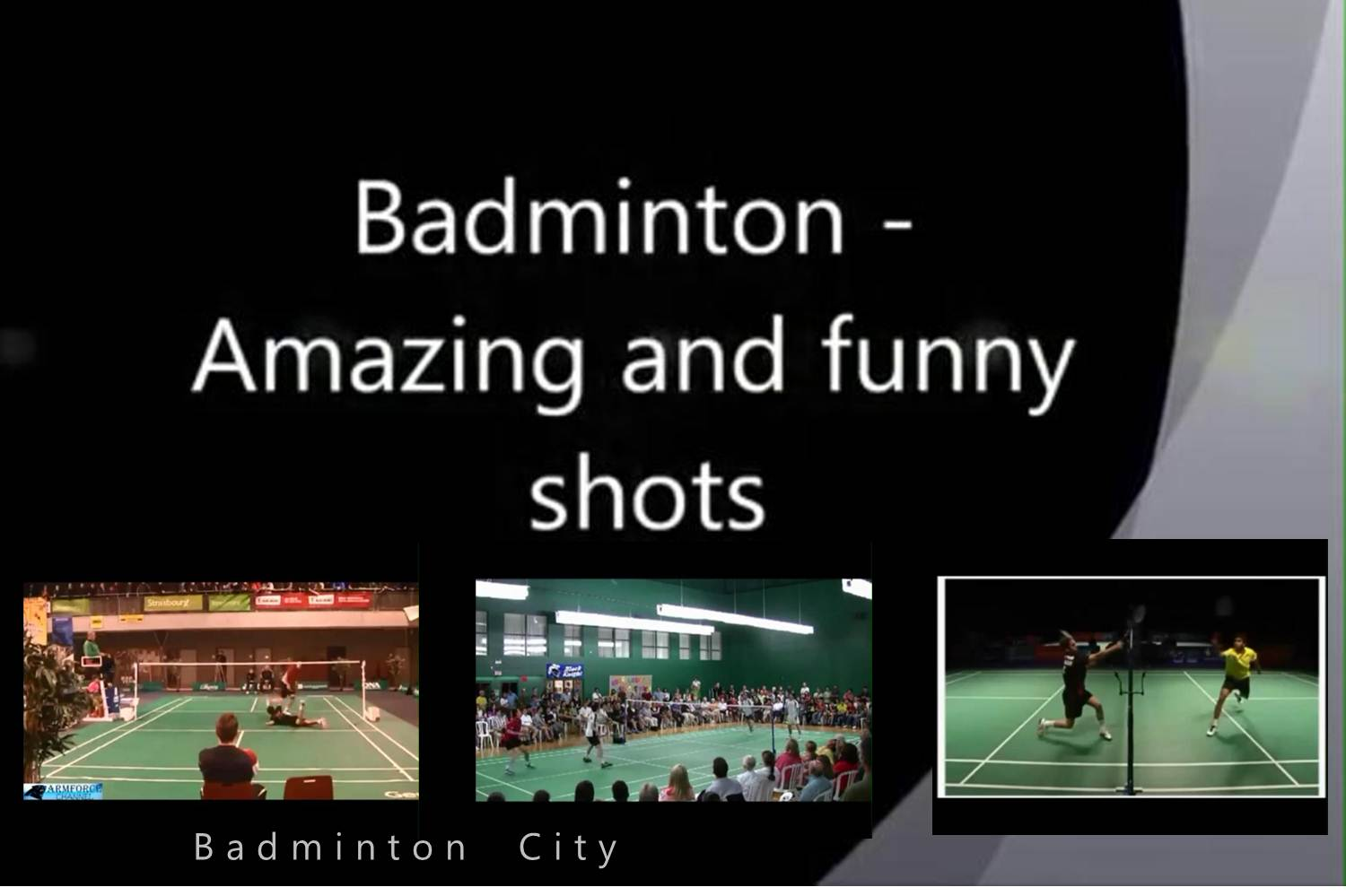 کلیپ بدمینتونی - Badminton - amazing and funny moments