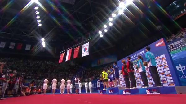فینال مسابقات مختلط بدمینتون قهرمانی جهان 2013