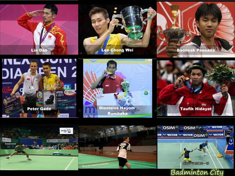 Badminton men's singles trickshots - ترفندهای بدمینتون