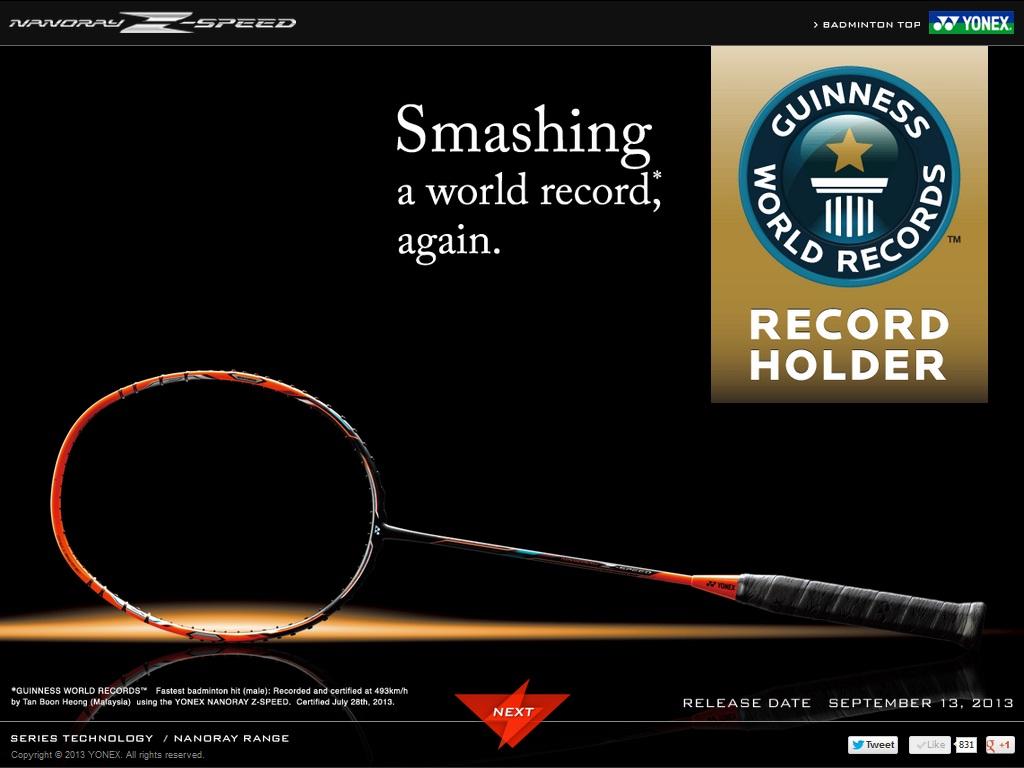 دوباره شکسته شدن رکورد اسمش در بدمینتون 2013