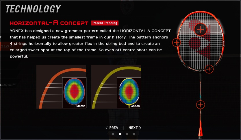 NANORAY Z-SPEED Racquets - راکت نانو ری زد اسپید