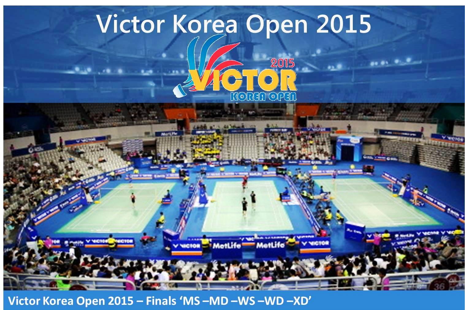 دانلود فینال مسابقات بدمیتون Victor Korea Open 2015