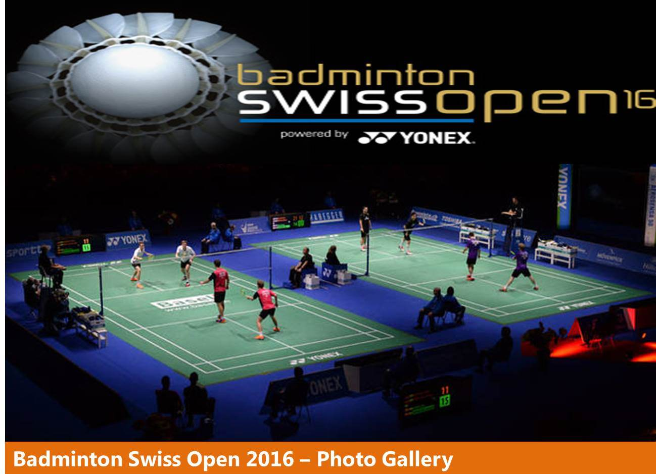 گالری تصاویر مسابقات Swiss Open 2016