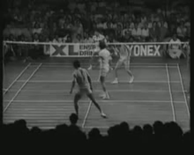 1980 Badminton China vs Ina